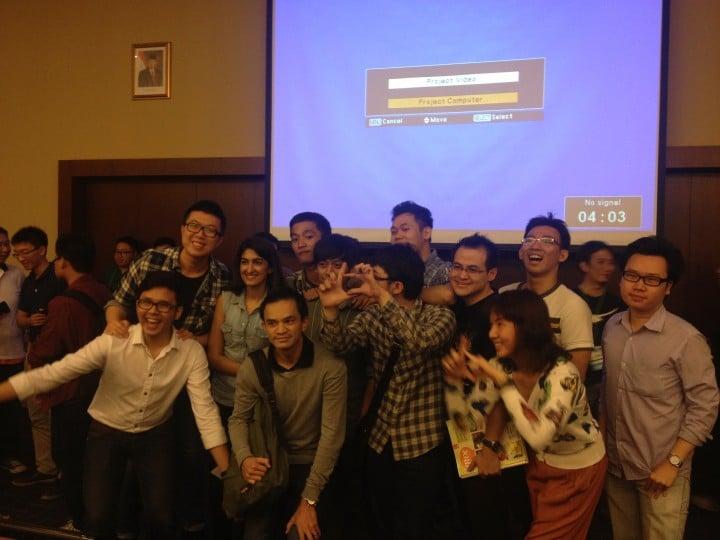 C'est la startup Bill.E qui est remportée l'édition 2013 de Startup Weekend Jakarta / Credit photo : TechInAsia