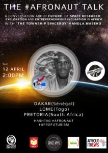 En 2014 fut organisée la 1ère édition de  l'Afronaut Talk autour de Mandla Maseko