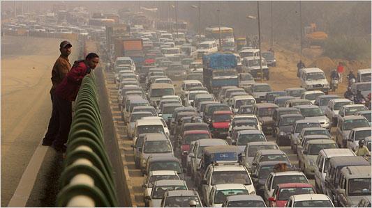car traffic in india and carpooling startups BRICS