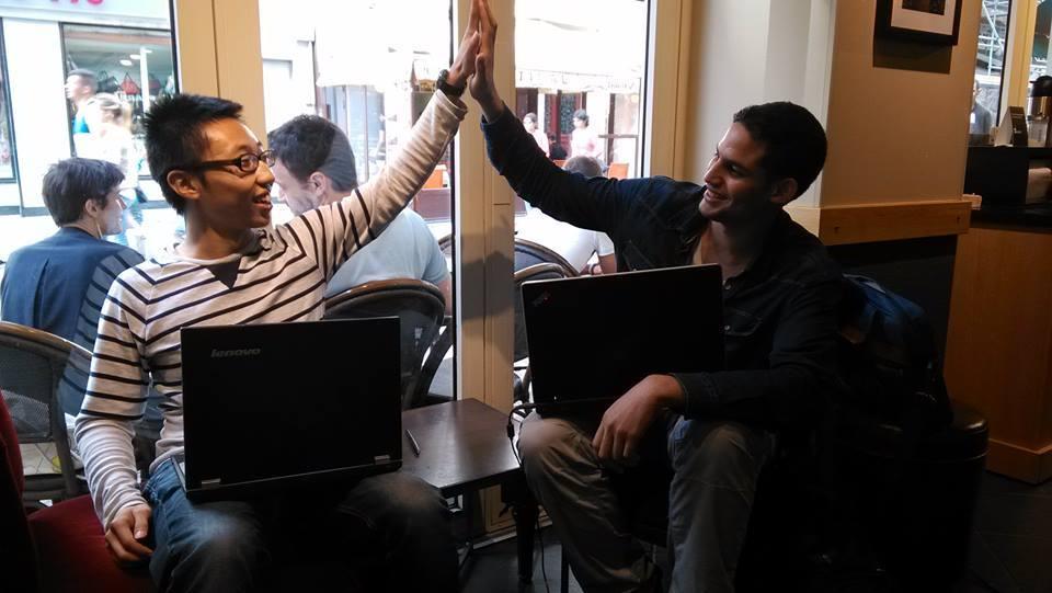 Dernier jour du stagiaire Data Scientist Wei Wen, étudiant Chinois en double diplôme à Supelec passioné par le Machine Learning, qui a effectué son stage d'été chez Riminder