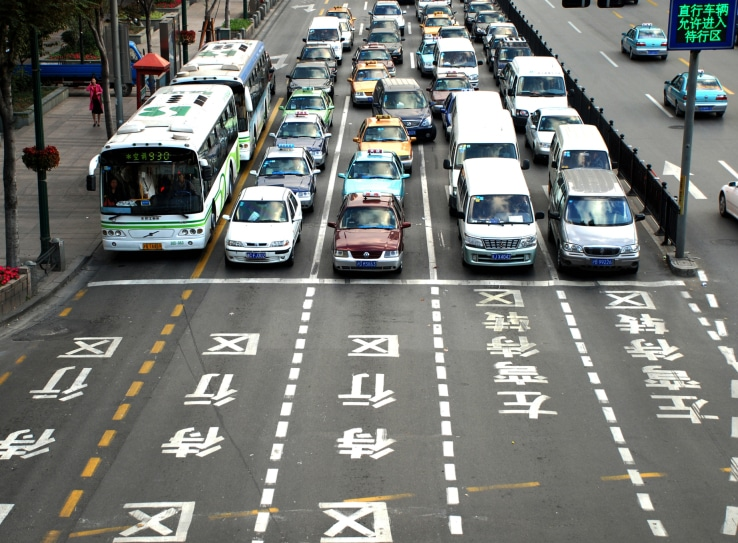 traffic-in-china-carpooling-china-share-ride-startup
