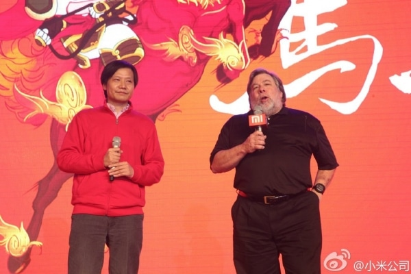 Steve Wozniak affiche son soutien aux ambitions internationales de Xiaomi