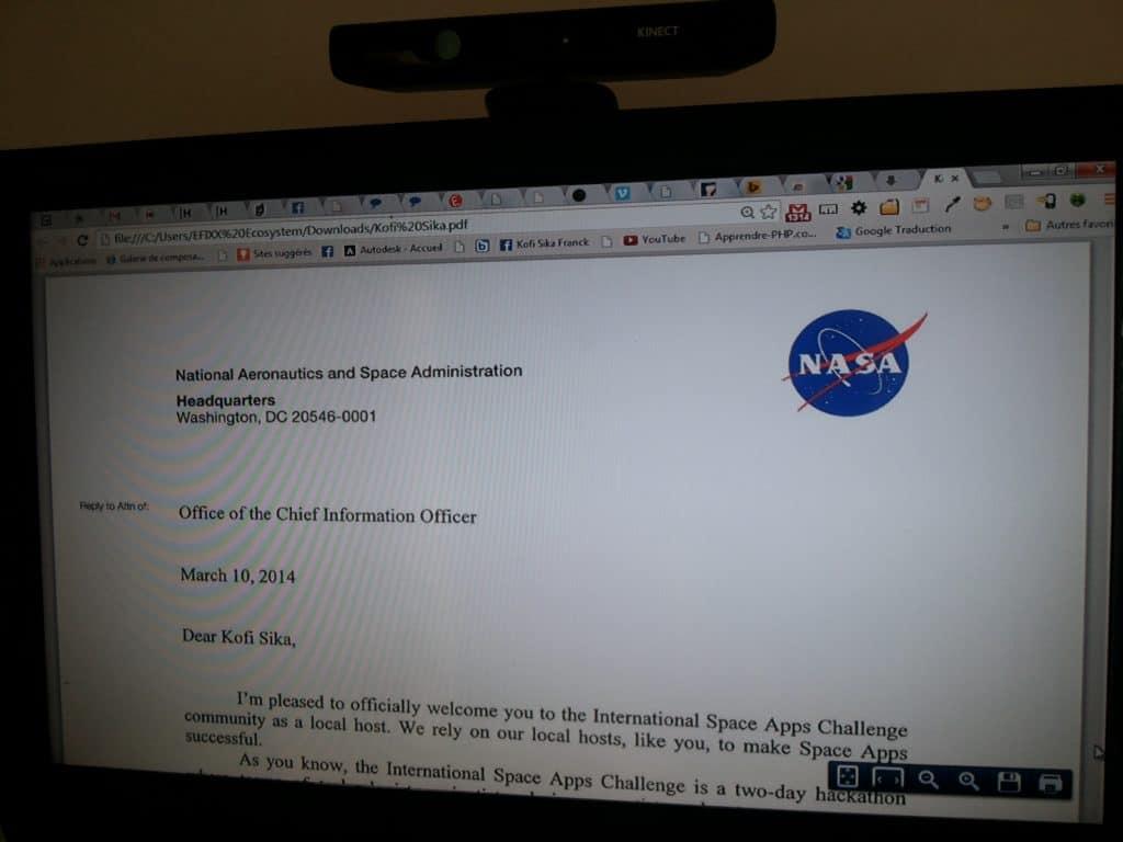 Organisée au Sénégal pour la première fois, le NASA Space Apps Challenge est entièrement sur le terrain par des équipes 100% sénégalaises