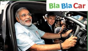 BlaBlaCar Inde Startups BRICS Carpooling