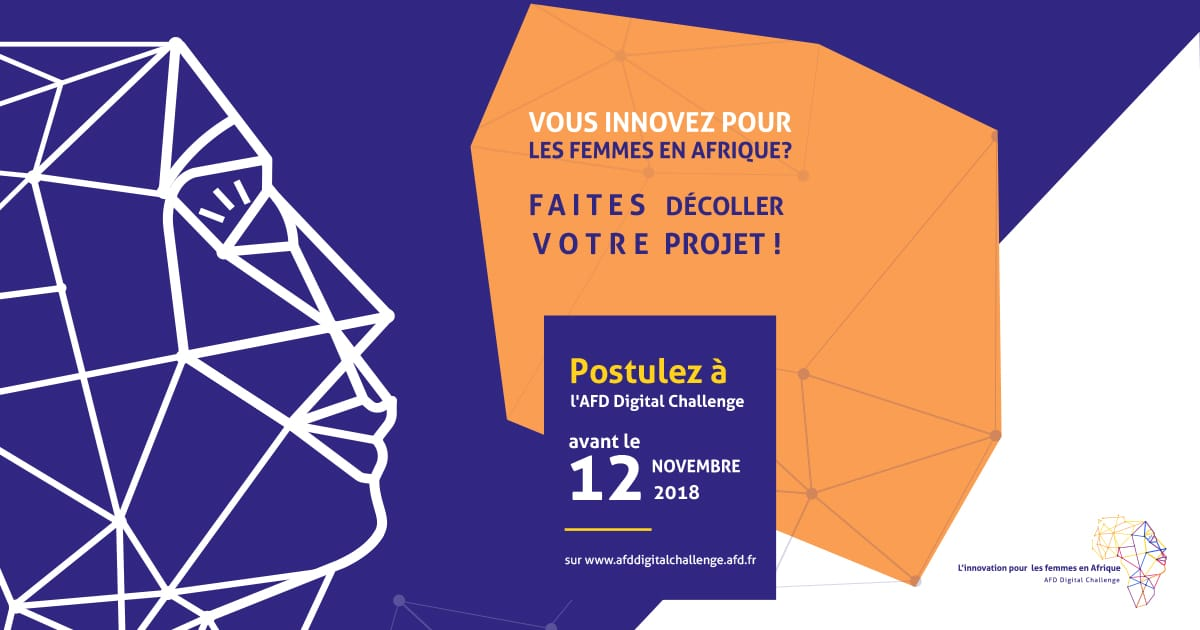 Appel candidatures AFD Digital Challenge